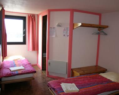 Studienfahrt Jugendherberge Boulogne-sur-Mer: Zimmerbeispiel