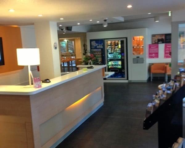 Abireise 2- Sterne Hotel Ibis Budget Avignon Nord: Rezeption
