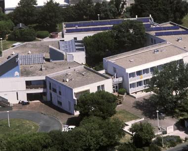 Studienfahrt Jugendherberge La Rochelle- Luftbild
