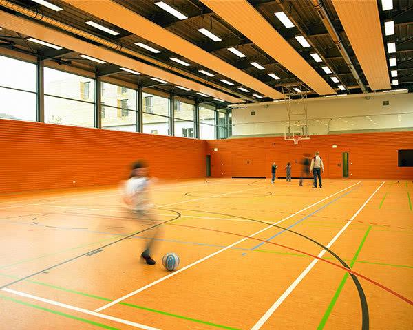 Abireise Jugendherberge Echternach: Hallenfußball