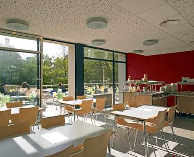 Kursfahrt Luxemburg City Hostel: Caféteria