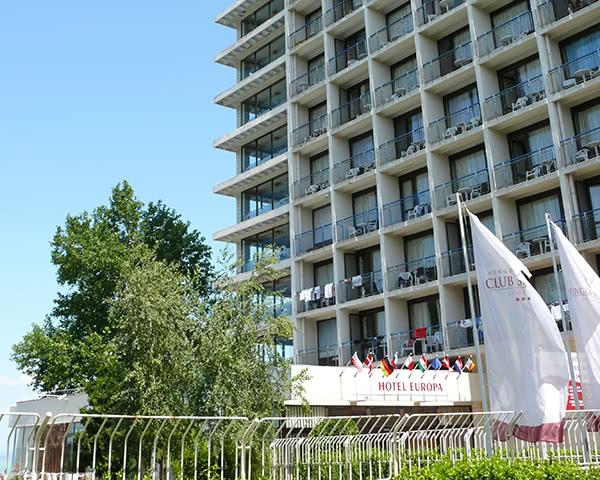Jugendreisen Hotel Club Siófok***: Außenansicht