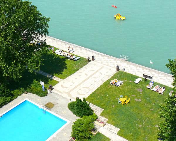 Klassenfahrt Hotel Club Siófok***- Pool