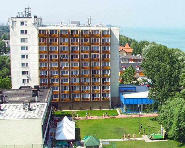 Blick auf das Hotel Magistern