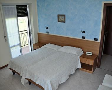 Kursfahrt Hotel Aurora- Zimmerbeispiel