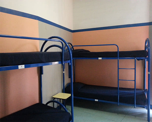Kursfahrten Zebra Hostel- Zimmerbeispiel