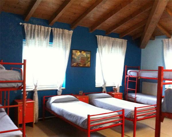 Klassenreise Ostello Verbania: Zimmerbeispiel