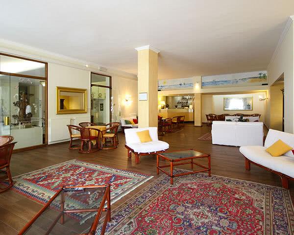 Abifahrt Hotel Principe- Lobby