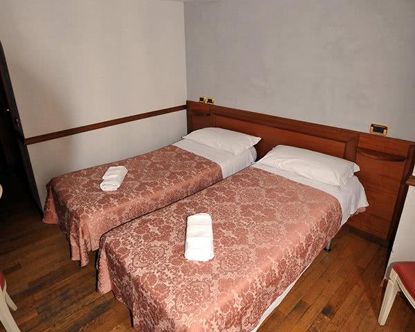 Kursreise Beispielhotel Prassede in Rom: Zimmerbeispiel