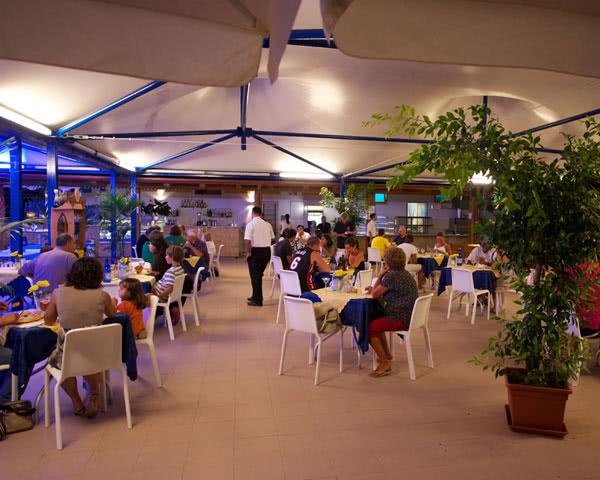 Klassenreise Camping Village Laguna Blu: Restaurant
