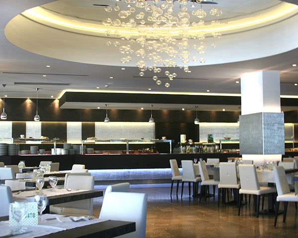 Jugendreise Ferienhotel im Raum Cefalù: Beispiel Restaurant