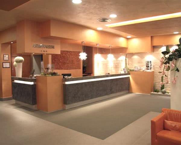 Abireise Hotel in Palermo: Beispiel Rezeption