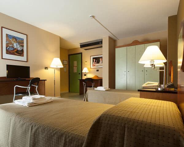 Schülerfahrt Hotel in Palermo- Zimmerbeispiel