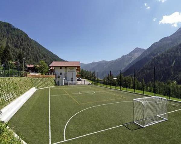 Schulfahrten Rinsbacher Hof: Fußballplatz