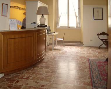 Kursfahrt Touristenhotel Florenz- Rezeption
