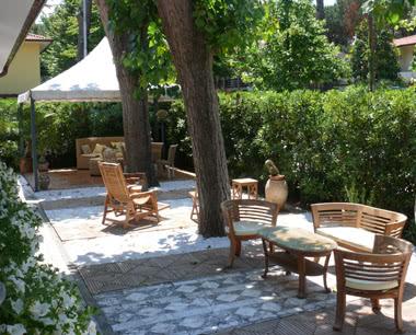 Kursreise Hotel an der Versiliaküste: Lounge-Area