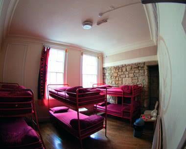 Klassenreie St. Christopher's Inn Bath- Zimmerbeispiel