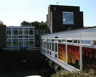 Studienfahrt Jugendherberge Conwy- Außenansicht