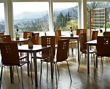 Klassenfahrten Jugendherberge Conwy- Speisesaal