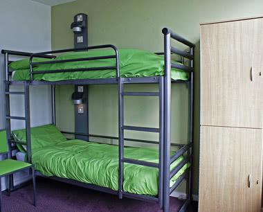Kursreise Jugendherberge Conwy: Zimmerbeispiel