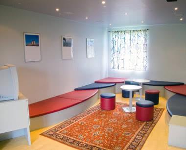 Klassenfahrt Storchencamp Purbach- Aufenthaltsraum