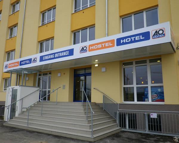 Abifahrt A&O Wien Hauptbahnhof- Außenansicht