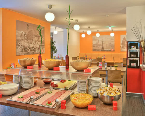 Studienfahrt Meininger Hotel City Center Wien: Buffet