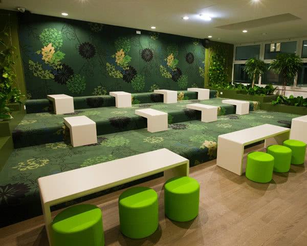 Kursreise Wombats City Hostel Wien- Lounge