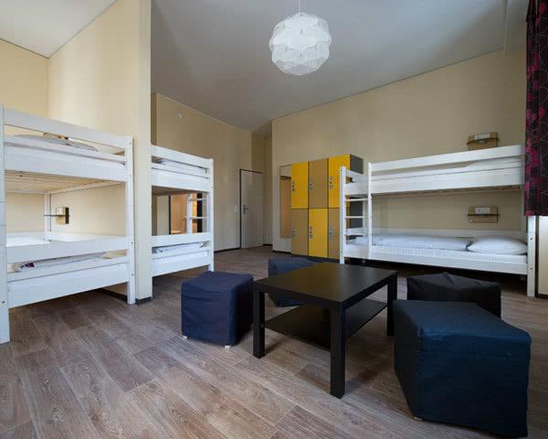 Wombats City Hostel Wien: Zimmerbeispiel