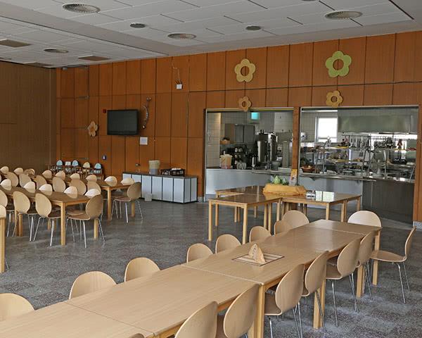 Kursreisen Jugenderholungszentrum Arendsee: Speiseraum