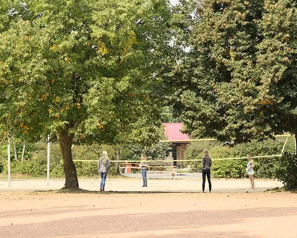 Gruppenreisen Freizeitaktivitäten Ferienzentrum Arendsee: Volleyball