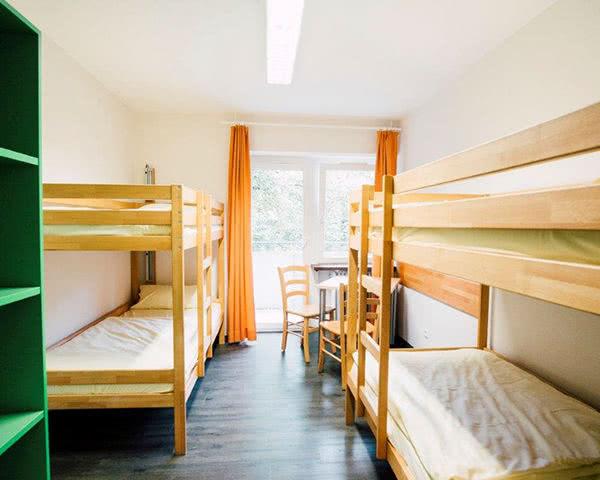 Gruppenreise Jugendherberge Augsburg: Mehrbettzimmer