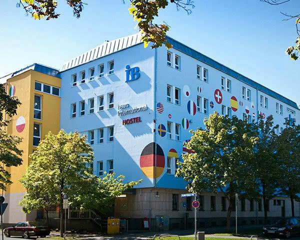 Klassenfahrt Haus International München- Außenansicht