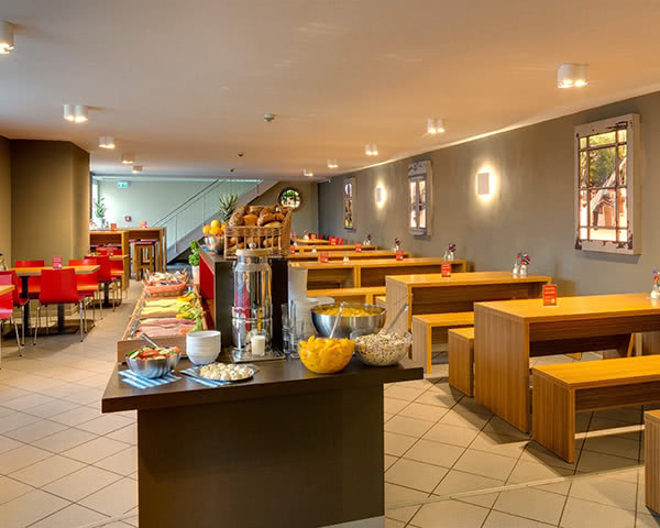 Gruppenreisen Meininger City Center München: Frühstücksrestaurant