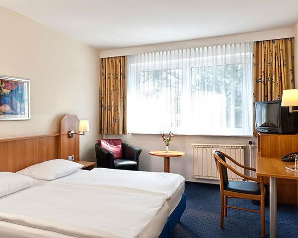 Schülerfahrten Grand City Hotel Globus Berlin- Zimmerbeispiel