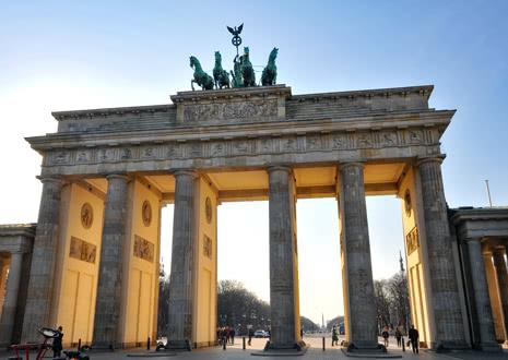Klassenfahrt Berlin - Brandenburger Tor