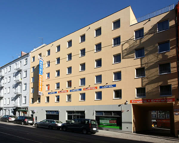 Klassenreise A&O Berlin Friedrichshain: Außenansicht