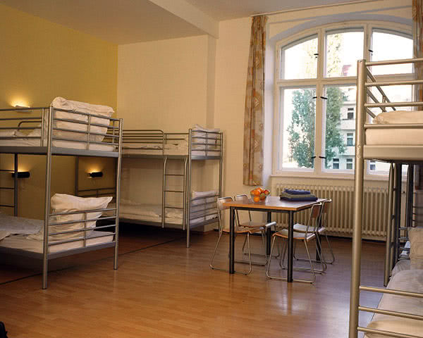 Klassenfahrten A&O Berlin Friedrichshain- Zimmerbeispiel