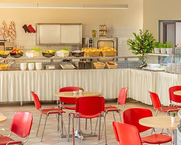 ALL IN Hostel Berlin- Frühstücksbuffet ALL IN Hostel Berlin
