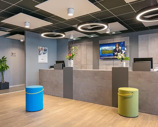 Comforthotel Lichtenberg- Empfang Comforthotel Lichtenberg