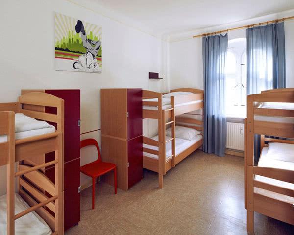 Hostel 3 little pigs Zimmer