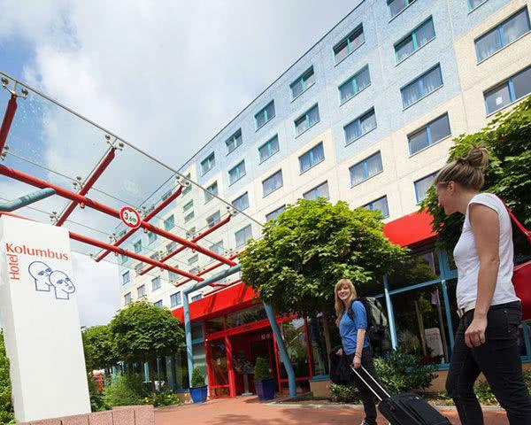 Schulreise Hotel Kolumbus: Außenansicht