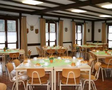 Klassenreise Freizeitzentrum Schapbachhof: Speisesaal