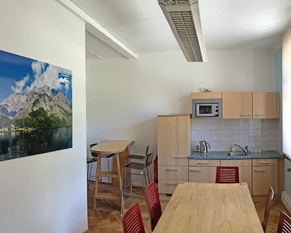 Kursreise Hostel Berchtesgaden: Küche