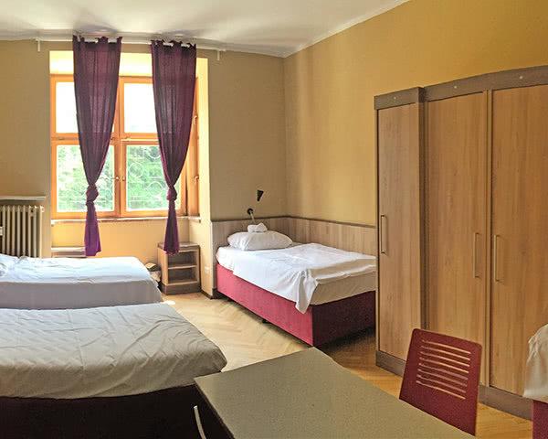 Schülerfahrt Hostel Berchtesgaden- Zimmerbeispiel