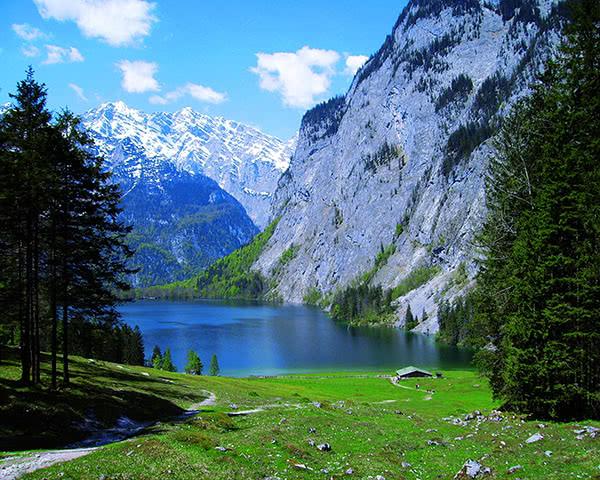 Klassenfahrt Berchtesgaden - Königssee - Obersee