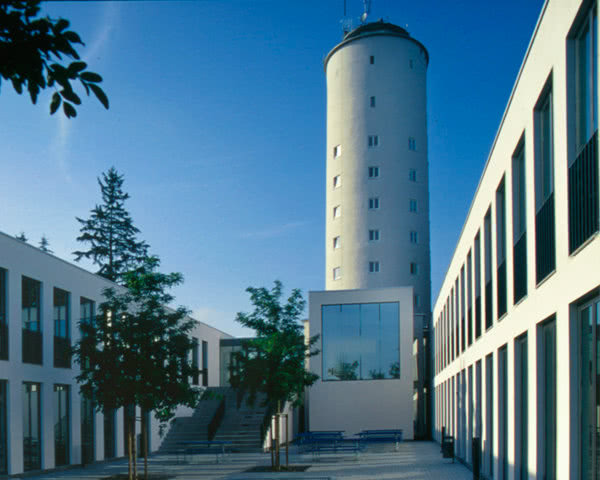 Schulfahrt Jugendherberge Konstanz- Innenhof