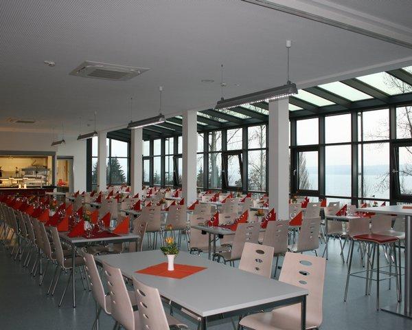 Kursfahrten Jugendherberge Überlingen: Speisesaal