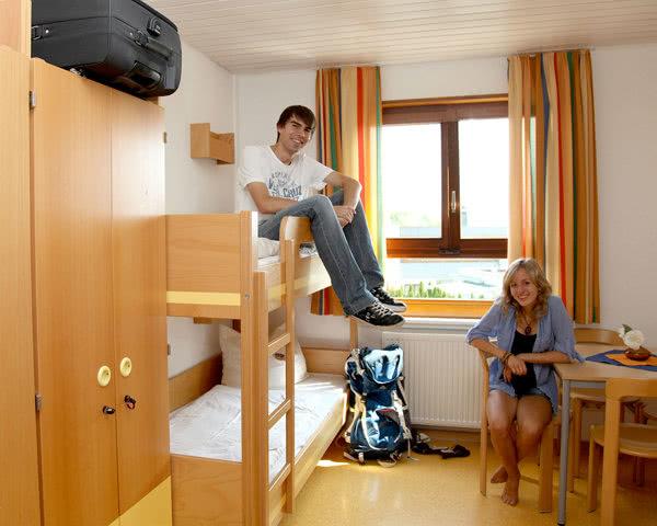 Schulreise Jugendherberge Überlingen- Zimmerbeispiel