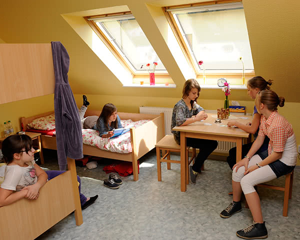 Jugendfahrt Jugenddorf Gnewikow- Zimmerbeispiel